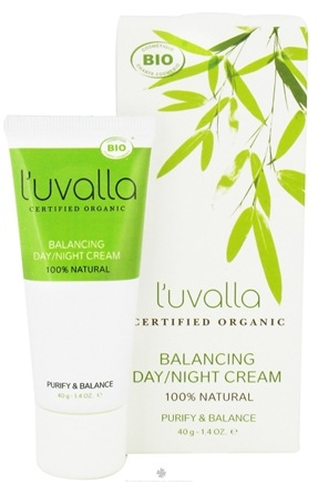 DROPPED: L'uvalla Certified Organic - Balancing Day/Night Cream Purify and Balance - 1.4 oz. CLEARANCE PRICED