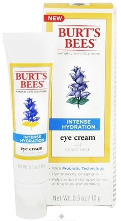 DROPPED: Burt's Bees - Eye Cream Intense Hydration with Clary Sage - 0.5 oz.