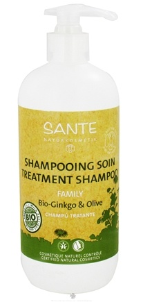 DROPPED: Sante - Family Shampoo Treatment Organic Ginkgo & Olive - 16.9 oz. CLEARANCE PRICED