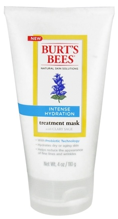 DROPPED: Burt's Bees - Treatment Mask Intense Hydration with Clary Sage - 4 oz.