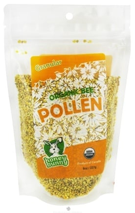 DROPPED: Honey Bunny - Organic Bee Pollen Granules - 8 oz.