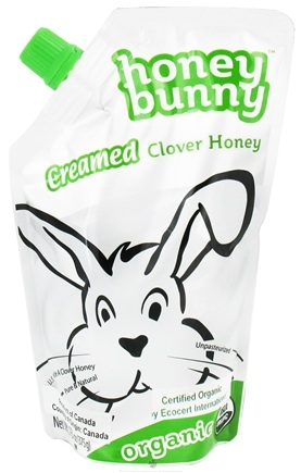 DROPPED: Honey Bunny - Grade A Creamed Clover Honey Organic - 13 oz.
