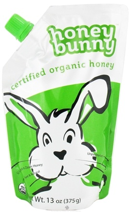 DROPPED: Honey Bunny - Grade A Liquid Clover Honey Organic - 13 oz.