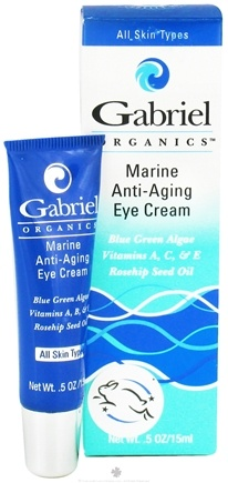DROPPED: Gabriel Cosmetics Inc. - Organics Marine Anti-Aging Eye Cream - 0.5 oz. CLEARANCE PRICED