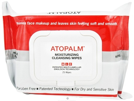 DROPPED: Atopalm - Moisturizing Cleansing Wipes - 25 Wipe(s) CLEARANCE PRICED