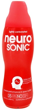 DROPPED: Neuro - Sonic Lightly Carbonated Nutritional Supplement Drink - 14.5 oz.