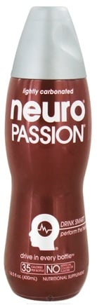DROPPED: Neuro - Passion Lightly Carbonated Nutritional Supplement Drink - 14.5 oz.