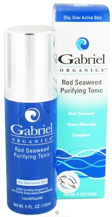 DROPPED: Gabriel Cosmetics Inc. - Organics Red Seaweed Purifying Seaweed Tonic - 5 oz. CLEARANCE PRICED