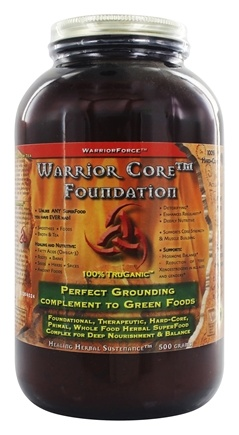 WarriorForce - DO NOT PUBLISH Warrior Foundation Powder - 500 Grams