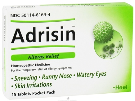 DROPPED: BHI/Heel - Adrisin Allergy Relief - 1 Pack CLEARANCE PRICED