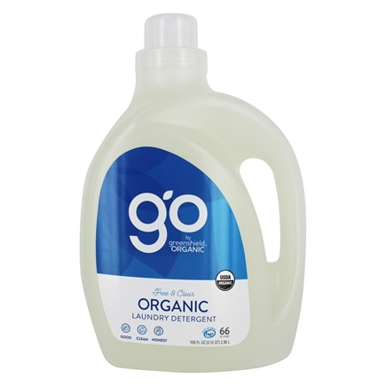 Green Shield Organic - Laundry Detergent 3x Concentrated Free & Clear - 100 oz.