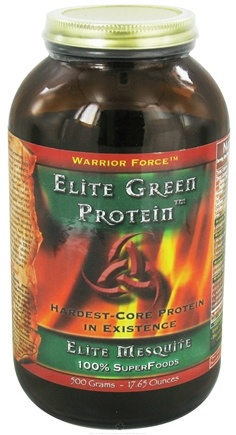 WarriorForce - Warrior Food Elite Green Protein Elite Mesquite - 500 Grams