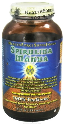 DROPPED: HealthForce Nutritionals - Spirulina Manna Powder - 5.25 oz. CLEARANCE PRICED