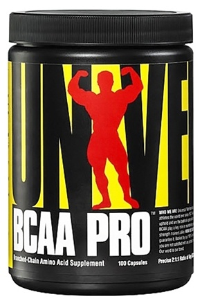DROPPED: Universal Nutrition - BCAA Pro Anabolic Amino Complex - 100 Capsules