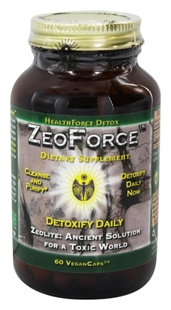 DROPPED: HealthForce Nutritionals - ZeoForce Zeolite Detoxify Daily - 60 Vegetarian Capsules