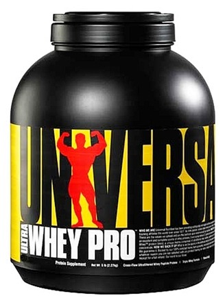 DROPPED: Universal Nutrition - Ultra Whey Pro Triple Whey Formula Mocha Cappuccino - 6.6 lbs.