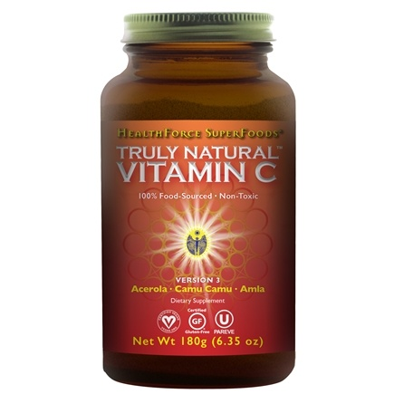HealthForce Nutritionals - Truly Natural Vitamin C Powder - 6 oz.