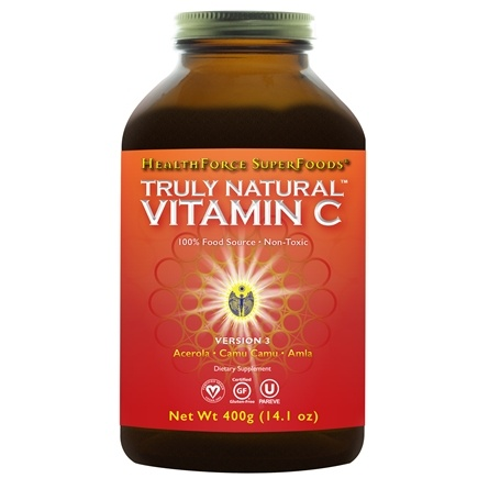 HealthForce Nutritionals - Truly Natural Vitamin C Powder - 500 Grams