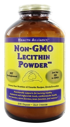 HealthForce Nutritionals - Health Alliance Non-GMO Lecithin Powder - 375 Grams
