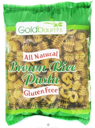 DROPPED: Goldbaum's - All Natural Brown Rice Pasta Gluten Free Radiotare - 16 oz. CLEARANCE PRICED