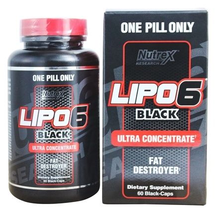 Nutrex - Lipo 6 Black Ultra Concentrate - 60 Capsules