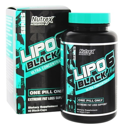DROPPED: Nutrex - Lipo 6 Hers Black Ultra Concentrate - 60 Capsules