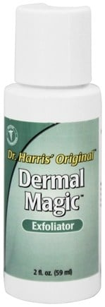DROPPED: Dr. Harris Original - Dermal Magic Exfoliator - 2 oz. CLEARANCE PRICED