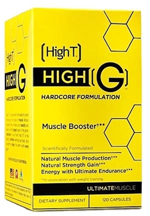 DROPPED: High T - High G Hardcore Formulation Muscle Booster - 120 Capsules