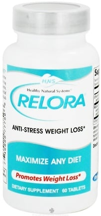DROPPED: Healthy Natural Systems - Relora Anti-Stress Weight Loss - 60 Tablets CLEARANCE PRICED
