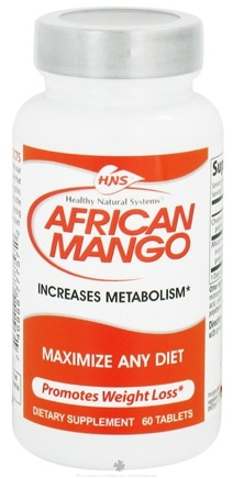 DROPPED: Healthy Natural Systems - African Mango - 60 Tablets CLEARANCE PRICED