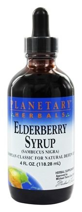 DROPPED: Planetary Herbals - Elderberry Syrup - 4 oz.