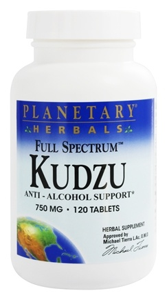 Planetary Herbals - Kudzu Full Spectrum 750 mg. - 120 Tablets