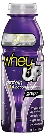 DROPPED: Whey Up - Protein & Functional Energy RTD Grape - 16 oz. CLEARANCE PRICED