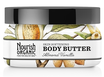 Nourish - Organic Body Butter Almond Vanilla - 3.6 oz. LUCKY PRICE