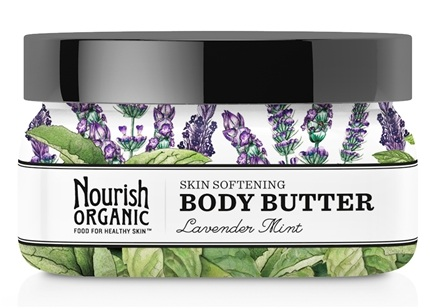 DROPPED: Nourish - Organic Body Butter Lavender Mint - 3.6 oz.