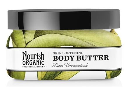 DROPPED: Nourish - Organic Body Butter Pure Unscented - 3.6 oz.
