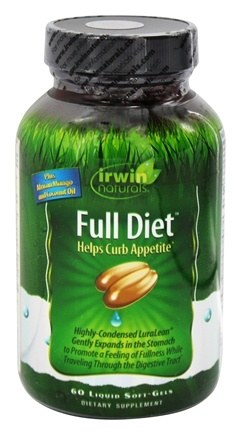DROPPED: Irwin Naturals - Full Diet - 60 Softgels