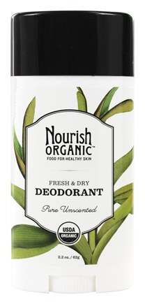 Nourish - Organic Deodorant Pure Unscented - 2.2 oz.