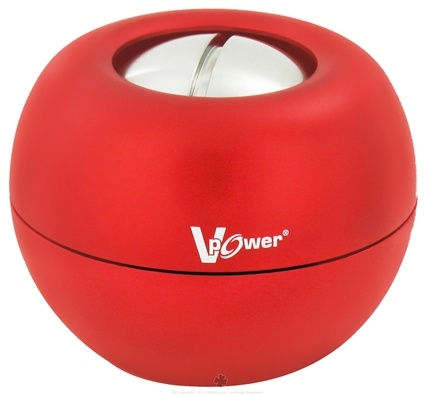 DROPPED: DFX Sports & Fitness - V-Power Gyro Exerciser with Case Red