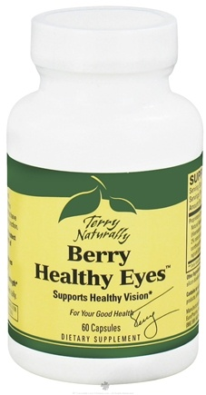 DROPPED: EuroPharma - Terry Naturally Berry Healthy Eyes - 60 Capsules