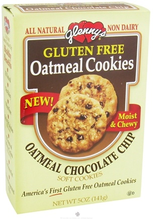 DROPPED: Glenny's - Oatmeal Cookies All Natural Gluten Free Chocolate Chip - 5 oz.