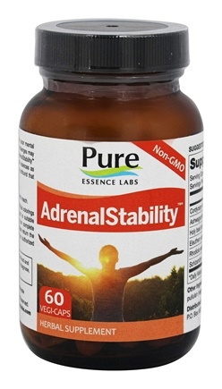 Pure Essence Labs - AdrenalStability - 60 Vegetarian Capsules