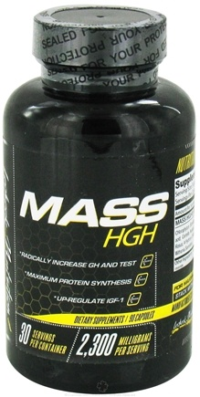 DROPPED: Lecheek Nutrition - Mass HGH 2300 mg. - 90 Capsules CLEARANCE PRICED