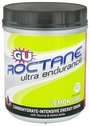 DROPPED: GU Energy - Roctane Ultra Endurance With Caffeine Canister Lemon Lime - 780 Grams CLEARANCE PRICED