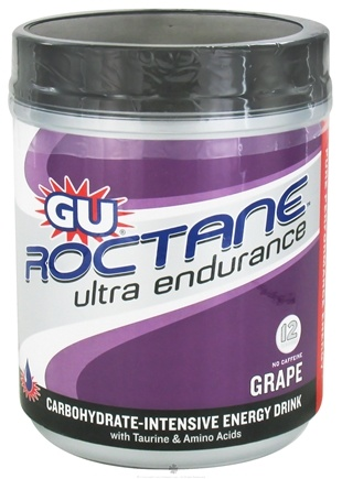 DROPPED: GU Energy - Roctane Ultra Endurance With Caffeine Canister Grape - 780 Grams CLEARANCE PRICED