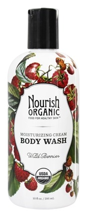 Nourish - Organic Body Wash Wild Berries - 10 oz.