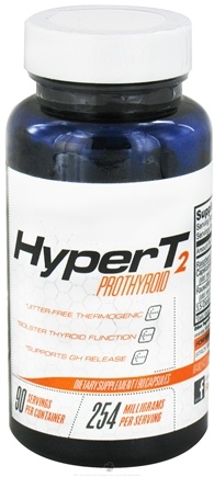 DROPPED: Lecheek Nutrition - Hyper T2 Prothyroid - 90 Capsules CLEARANCE PRICED