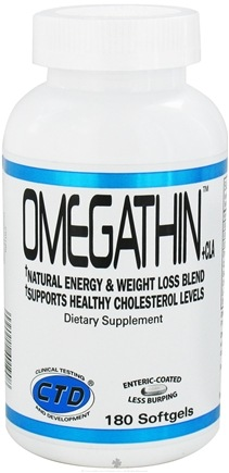 DROPPED: CTD Labs - Omegathin + CLA - 180 Softgels CLEARANCE PRICED