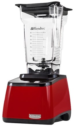 DROPPED: Blendtec - Designer Series FourSide Tabletop Home Blender DD28PA04A-A1GP1A00 Red