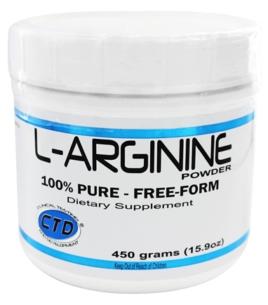 DROPPED: CTD Labs - L-Arginine Powder 5000 mg. - 454 Grams